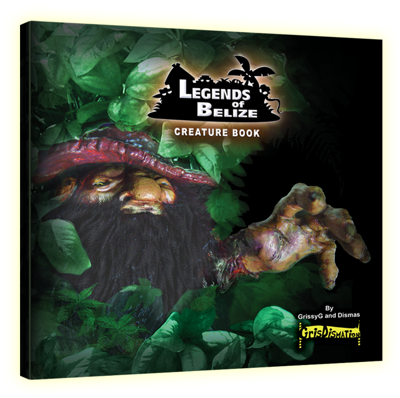 Legends of Belize Creature Book