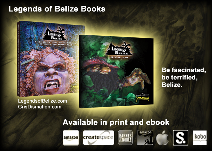 Legends of Belize Books