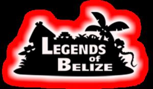 Legends of Belize glowing logo
