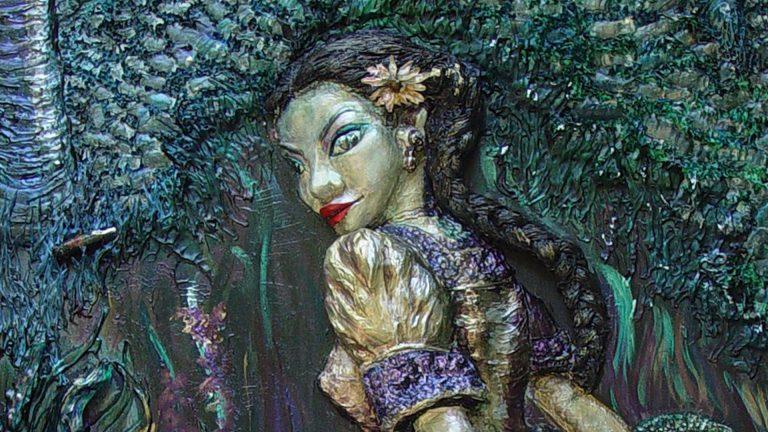 Xtabai is a shape shifting seductress that roams the jungle roads at night.