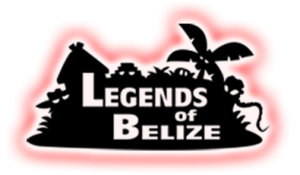 Legends of Belize glowing logo